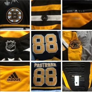 NHL Bruins playoff jersey